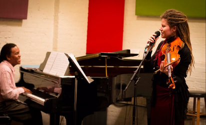 Music Teachers, Ariadna Kryazheva and David Harewood